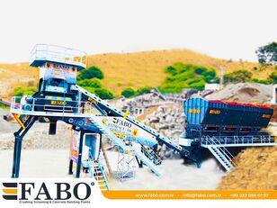 central de betão FABO  COMPACT-110 CONCRETE PLANT | CONVEYOR TYPE novo
