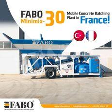 central de betão FABO MINIMIX-30M3/H MINI CENTRALE A BETON MOBILE novo