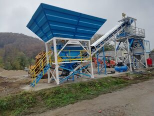 central de betão PROMAX Compact Concrete Batching Plant C60-SNG-PLUS (60m3/h) novo