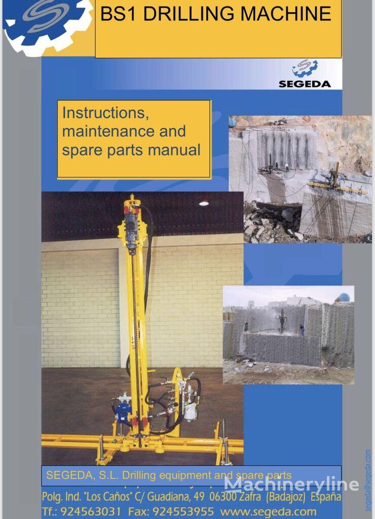 equipamento de perfuração Lafeta s vrtačkou BS1 SEGEDA novo