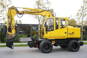 escavadora de rodas ATLAS Road-rail excavator Atlas 1404ZW