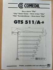 grua de torre COMEDIL GTS 511