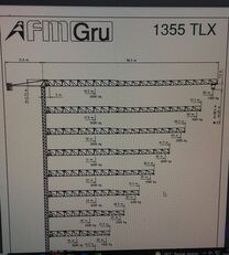 grua de torre FMGru TLX 1355