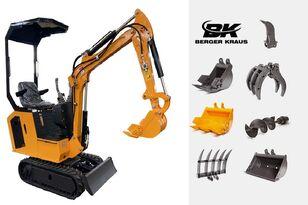 mini-escavadora BERGER KRAUS Mini Excavator BK800BS torsion arm with FULL equipment novo