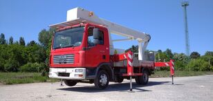 plataforma sobre camião MAN Bison Palfinger TKA 30 KS - 30m, 7.5t