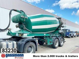semi-reboque betoneira LIEBHERR  10m³  Betonmischer ca