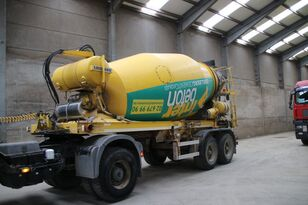 semi-reboque betoneira LIEBHERR BETON MIXER HTM 1004 ZA - 10 M³
