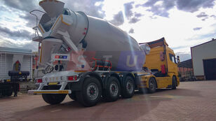 semi-reboque betoneira STU 12.7 CBM MIXER TRAILER novo