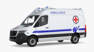 ambulância MERCEDES-BENZ SPRİNTER AMBULANCE A TYPE