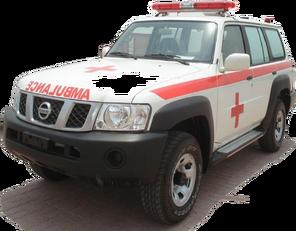 ambulância NISSAN Patrol 4.0 XE AT novo